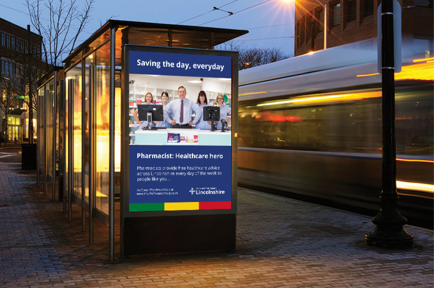DOSE Community Pharmacy Lincolnshire Bus Stop