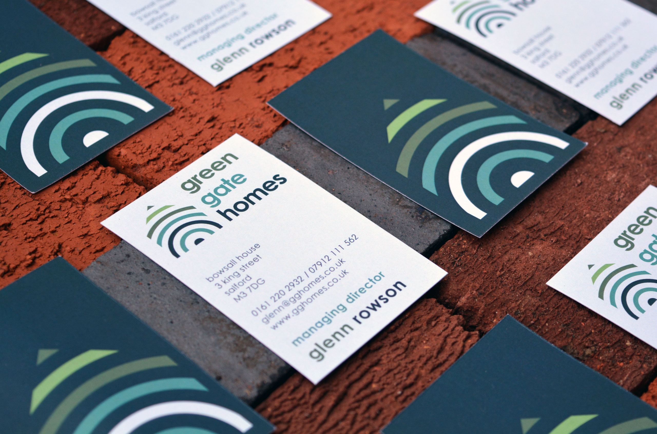 DOSE Design and Marketing Green Gate Homes Business Card