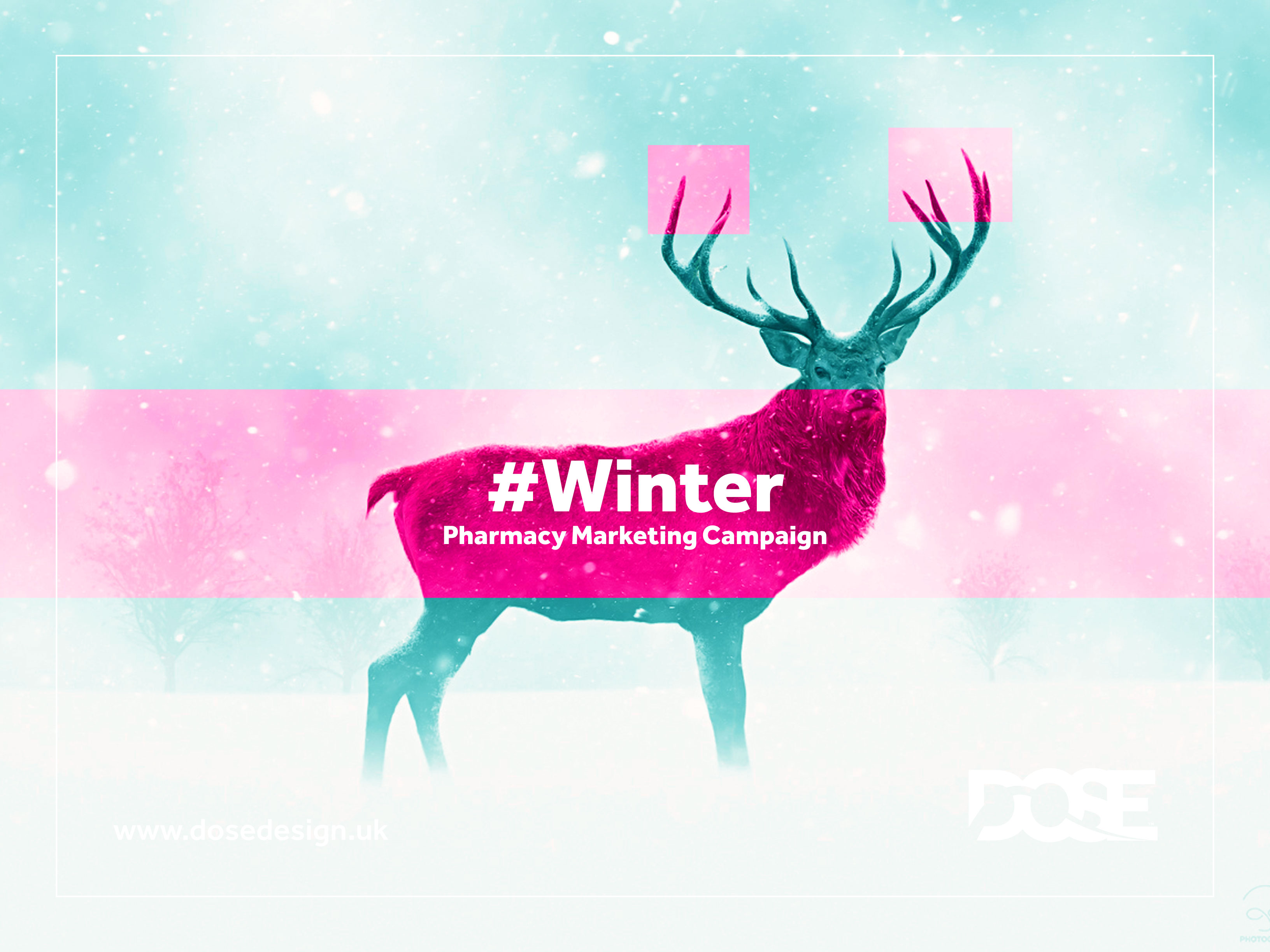 DOSE Design and Marketing Winter Pharmacy Marketing Campaign